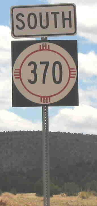Photo of NM-370 sign